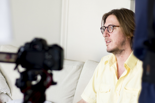 Pedro Severien fala sobre vídeoclipes no Toda Música. / Foto: Teresa Quesado
