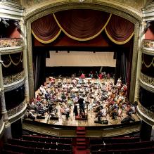 Orquestra Sinfônica do Recife no Teatro Santa Isabel. /Foto: Teresa Quesado