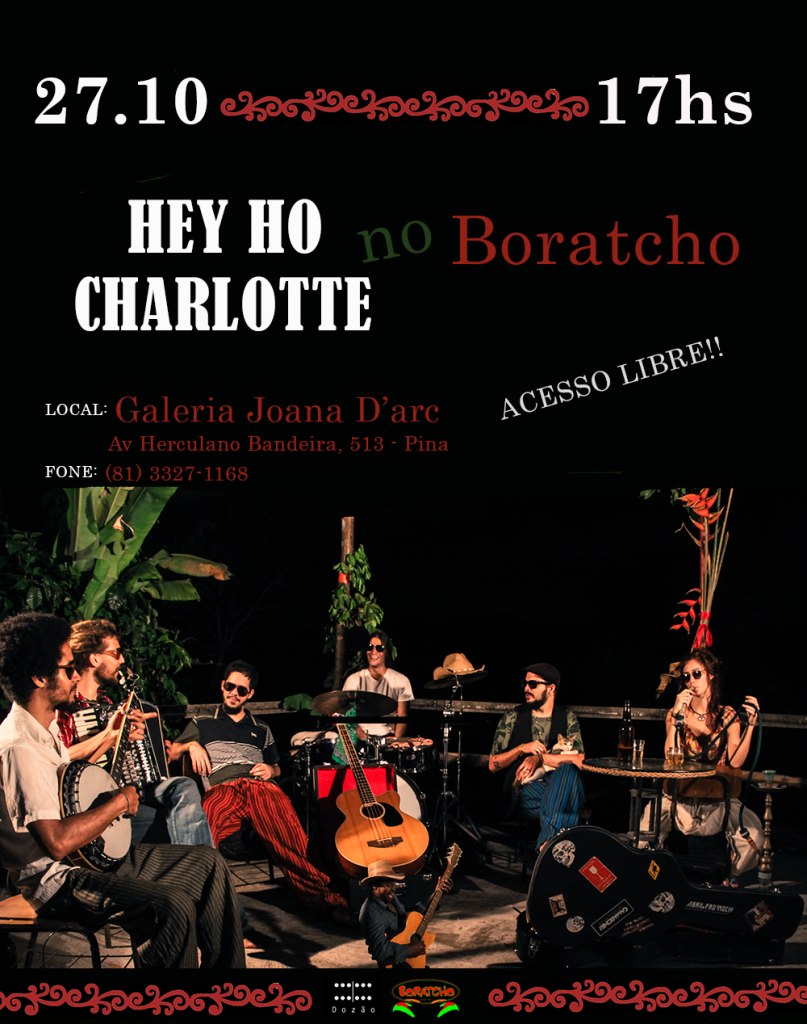 HEY HO CHARLOTTE no Boratcho