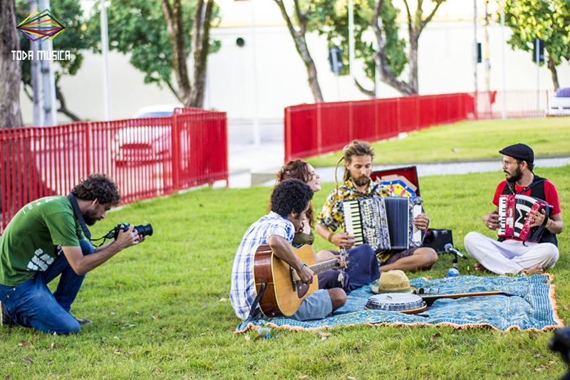 Folk e música cigana no Recife. /Foto: Teresa Quesado