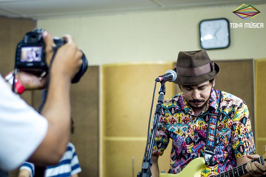 Juvenil Silva no Toda Música. / Foto: Teresa Quesado