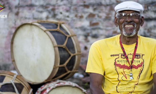 Mestre Afonso no Mundo Música. / Foto: Teresa Quesado