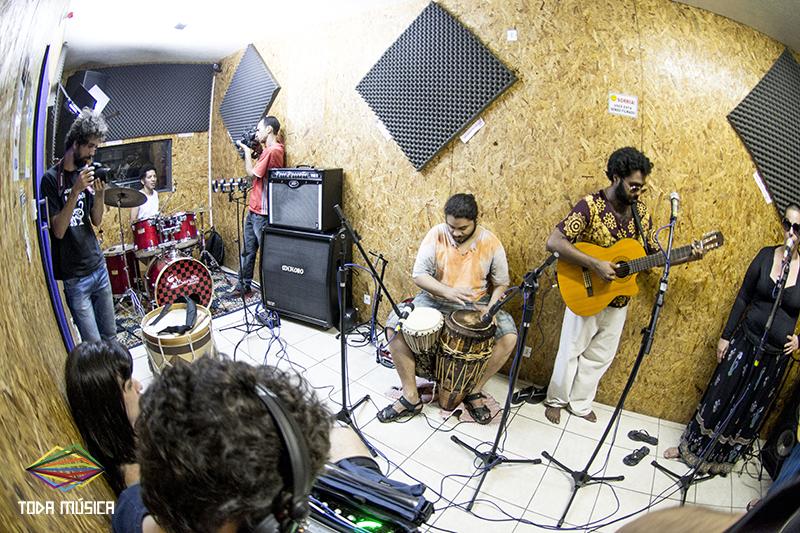Mexidinho no Ensaio do Toda Música. / Foto: Teresa Quesado