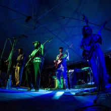 Show de Caapora no Toda Música. / Foto: Teresa Quesado