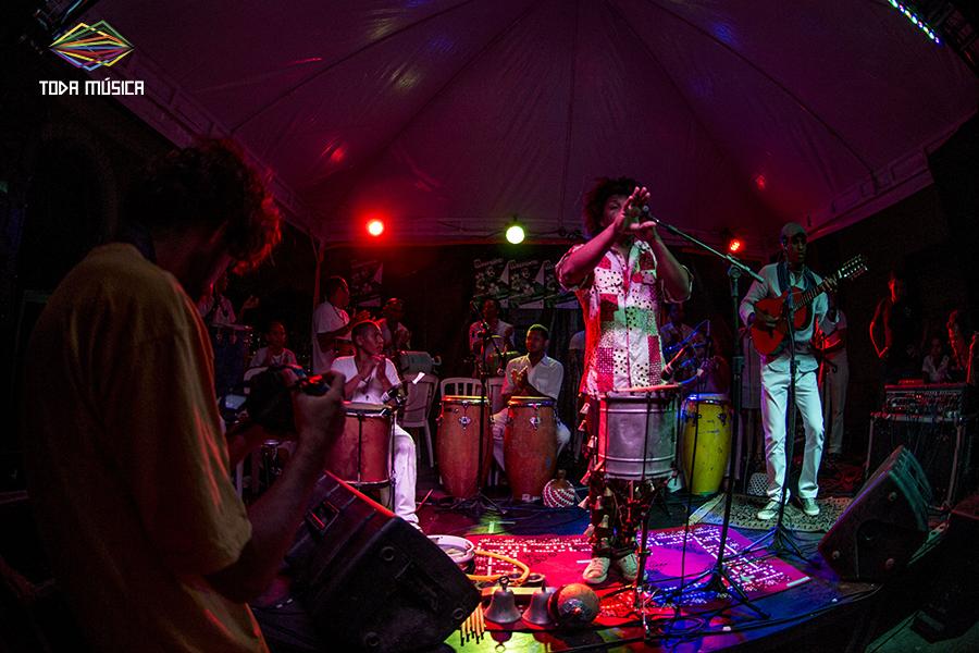 Lucas dos Prazeres no Toda Música. / Foto: Teresa Quesado